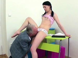 college girl gets seduced and shagged..